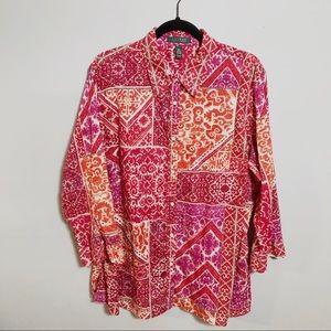 Lauren Ralph Lauren Plus Size Shirt